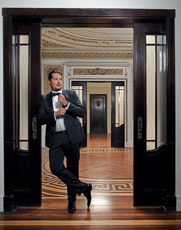 Igor Trafane, o Federal (Foto: Pedro Dimitrow)