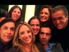 Ticiane Pinheiro leva César Tralli a festa e chama namorado de 'vida'