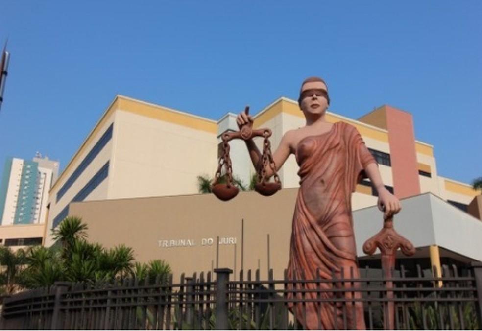 JUlgamento foi realizado nesta terça-feira pela ela 1ª Vara do Tribunal do Júri de Campo Grande (Foto: TJMS/divulgação)