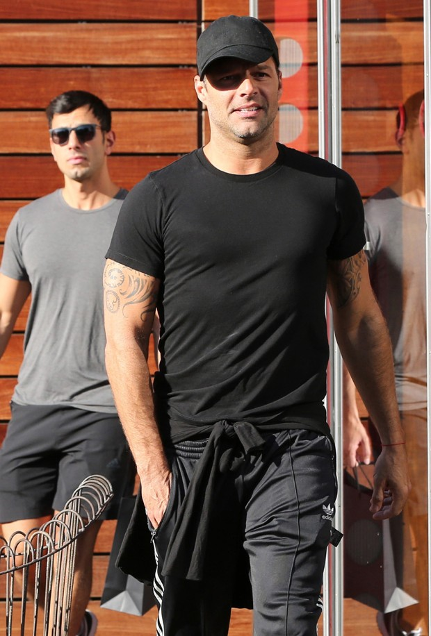 Ricky Martin e Jwan Yosef (Foto: Akm GSI / AKM Gsi Brasil)