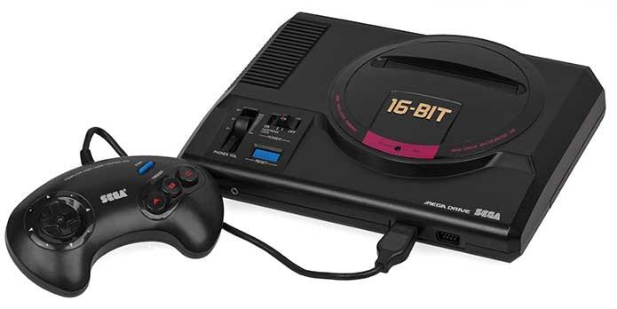 O Mega Driver clássico (Foto: Reprodução/RetroGamer)