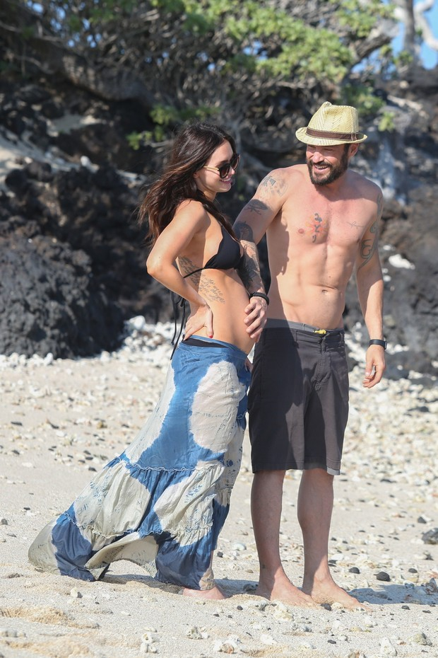 Megan Fox e Brian Austin  (Foto: AKM-GSI)