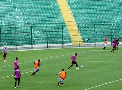 Figueirense x Atlético-PR jogo-treino (Foto: Marcelo Silva)