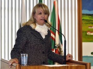 Noemia Rocha (PMDB), vereadora de Curitiba (Foto: Divulga&#231;&#227;o/C&#226;mara Municipal de Curitiba)