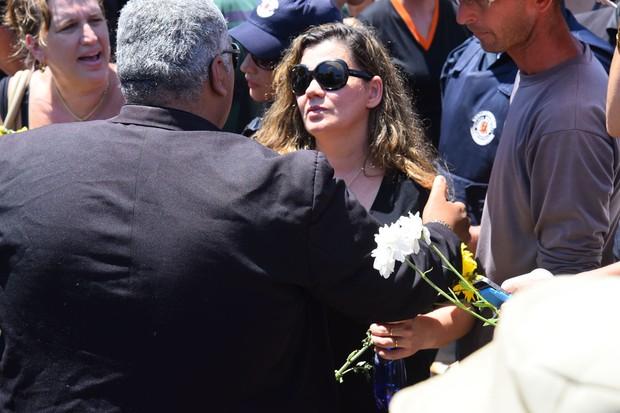 Enterro de José Rico (Foto: Caio Duran  / EGO)