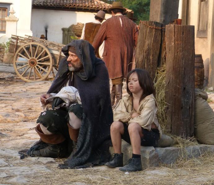 No episódio 'O Bom Pirata', o sétimo do spin-off  'A Lenda do Mão de Luva', Mão de Luva conhecerá Caju (Foto: Thais Meinicke/Gshow)