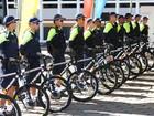Polícia Militar adota bicicleta para patrulhar ruas do Gama, no DF
