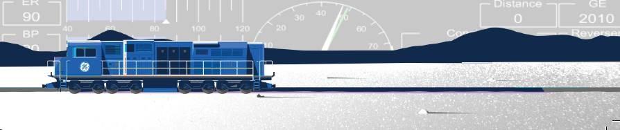 Locomotiva digital inteligente BBi da GE (Foto: Caminhos Para o Futuro)