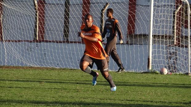 Reinaldo Alagoano, novo reforço do CRB (Foto: Denison Roma / Globoesporte.com)