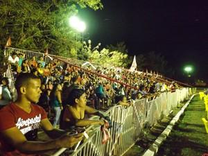 Mais de 6 mil pessoas compareceram no evento (Foto: Dayanne Saldanha/G1)