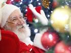 Papai Noel chega aos shoppings e abre programação de Natal no Vale