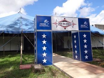 Circo da Ciência é espaço para crianças e jovens na SBPC Recife (Foto: Lorena Aquino / G1)