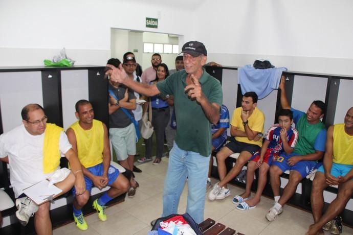 Treino Amigos do Delmo Aderbal Lana (Foto: Nathalia Silveira)