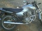 Combustível acaba e ladrão é preso empurrando moto furtada em MG