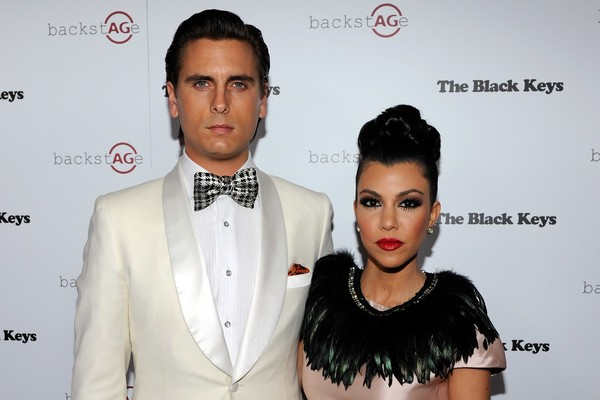 Kourtney Kardashian e Scott Disick (Foto: Getty Images)