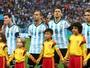"""Messi desafaba contra os críticos e revela: """"Não canto o hino de propósito"""""""