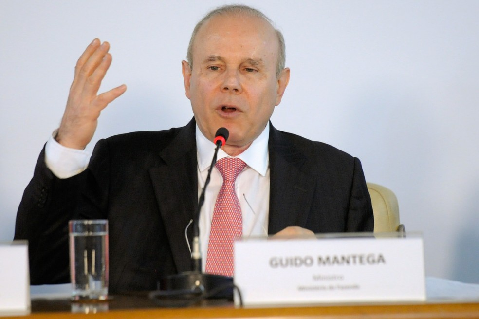 Ex-ministro Guido Mantega (Foto: Edilson Rodrigues/Agência Senado)