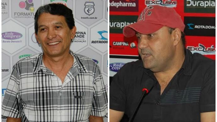 Bebeto Silva e William Simões (Foto: Montagem / GloboEsporte.com)