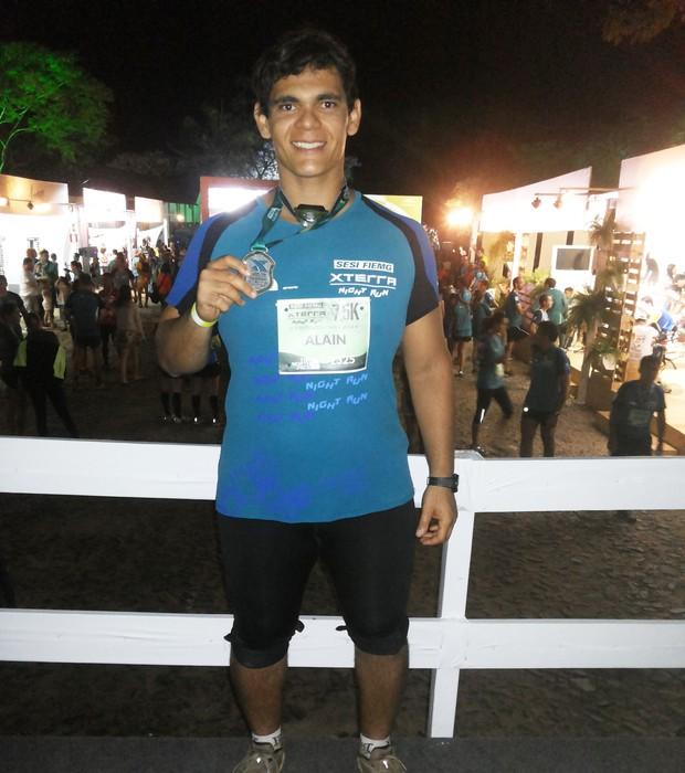 Alain Silva reaprendeu a se alimentar bem e, desde o início deste ano, já perdeu 30kg (Foto: Arquivo pessoal)