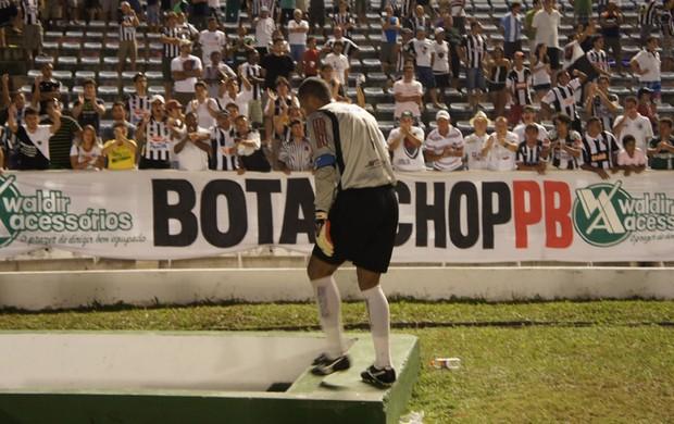 Genivaldo, goleiro do Botafogo-PB (Foto: Phelipe Caldas)