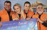 Família de agricultores de Santana do Livramento (RS) ganha R$ 1 milhão