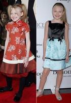 Dos 6 aos 20: veja a evolução do estilo de Dakota Fanning no tapete vermelho