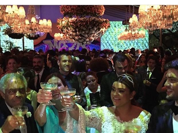 Festa - Casamento da Preta Gil e Rodrigo Godoy (Foto: Reprodução / Instagram)