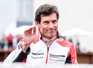 Mark Webber, na Porsche, no Mundial de Endurance (Foto: Divulgação)