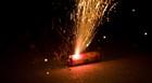 Fogos de artifício podem oferecer risco  (Assessoria/Sétimo Batalhão do Corpo de Bombeiros.)