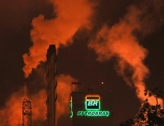 Unidade da Petrobras em  Cubatão (Foto: Paulo Whitaker/Reuters)