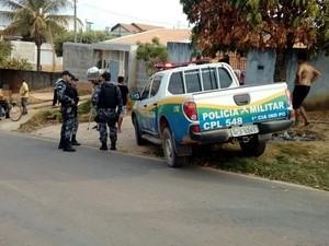 Polícia deu voz de prisão ao suspeito e o encaminhou à Delegacia de Polícia Civil de Jaru (Foto: Jaru Online/Reprodução)