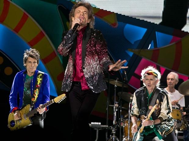 Rolling Stones se apresentam no Ciudad Deportiva, em Havana (Foto: AP Photo/Enric Marti)