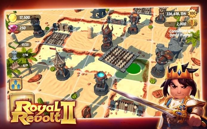 Antes exclusivo para iOS, Royal Revolt 2 chega também ao Android (Foto: Divulgação)