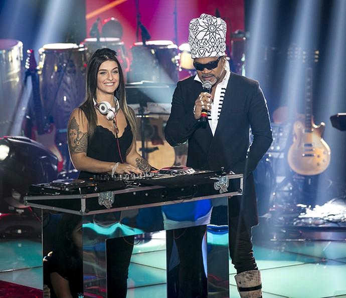Bárbara Labres chamou atenção no The Voice Kids (Foto: Isabella Pinheiro / Gshow)