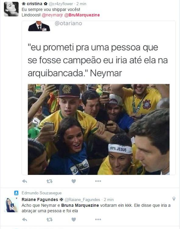 aa1339c0c8f EGO - Neymar e Bruna Marquezine se abraçam após medalha na Rio 2016 ...