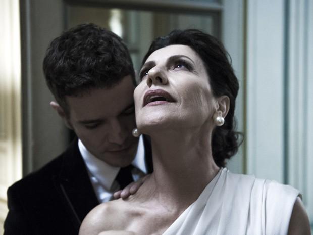 Daniel de Oliveira e Cassia Kis Magro serão amantes em 'O Rebu' (Foto: Estevam Avellar / TV Globo)