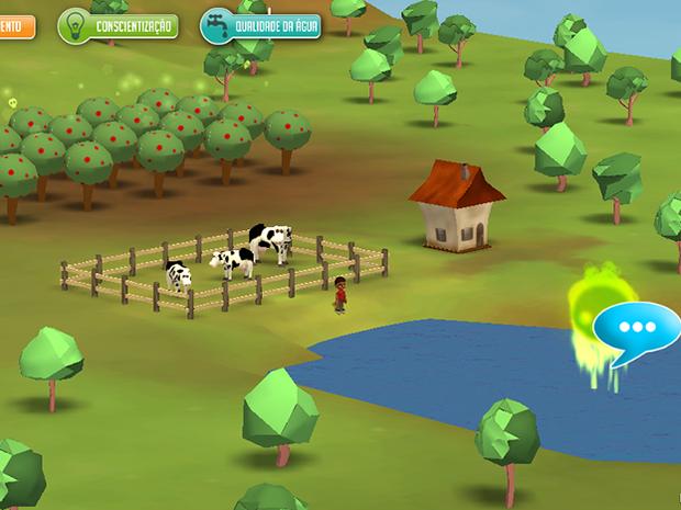 Jogo virtual dá lições sobre uso responsável da água (Foto: Divulgação/Fatec)