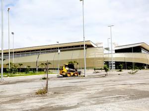 Arena Pantanal, no Bairro Verdão, em Cuiabá. (Foto: Lenine Martins/Gcom)