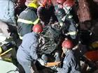2 vítimas de desabamento de igreja são resgatadas; 1 segue desaparecida