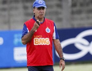 Marcelo Oliveira, técnico do Cruzeiro (Foto: Washington Alves / Textual)