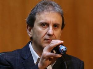 CPI Petrobras ouve Youssef sessão Curitiba (Foto: Geraldo Bubniak/AGB/Estadão Conteúdo)