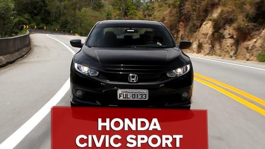 Honda Civic Sport: primeiras impressões