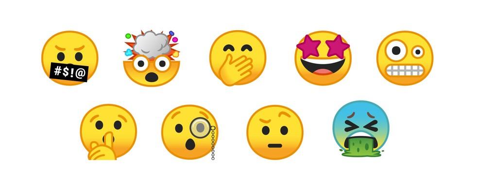 Emojis do Google foram redesenhados para o Android 8 e devem trazer figuras novas (Foto: Divulgação/Google)
