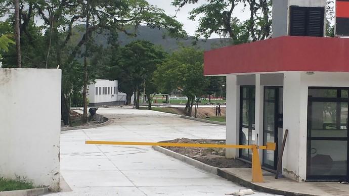 ninho do urubu (Foto: GloboEsporte.com)