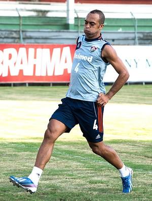 Leandro Euzébio treino Fluminense (Foto: Bruno Haddad / Fluminense. F.C.)