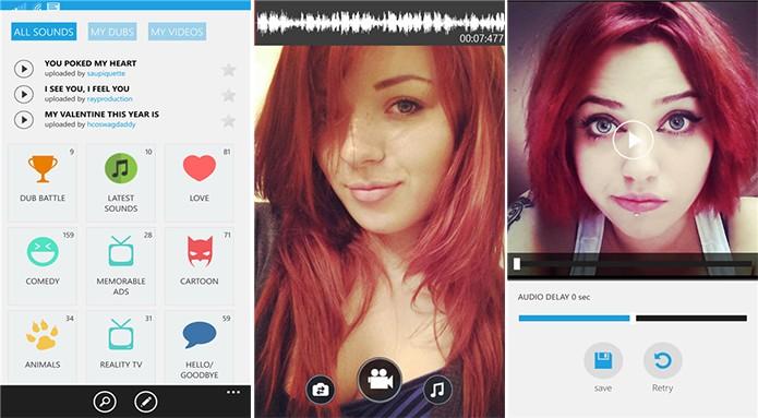 Dubsmach é um aplicativo para Windows Phone que para dublagens engraçadas (Foto: Divulgação/Windows Phone Store)
