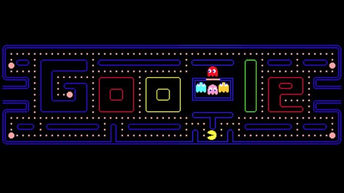 Doodle de Pac-Man no Google divertiu, mas também causou um bom prejuízo (Foto: Google)