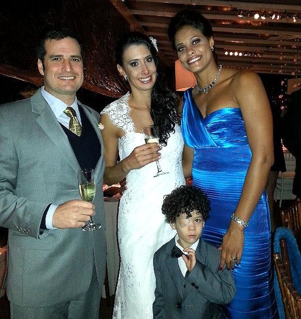 Sheilla casamento Adenizia vôlei (Foto: Reprodução / Instagram)