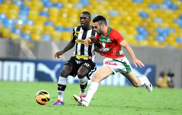 Seedorf Botafogo e Portuguesa (Foto: Andre Durão)