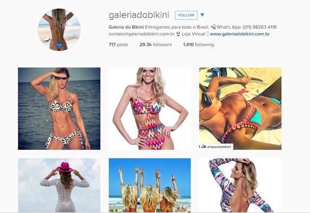 Galeria do Bikini, marca de Ana Paula Siebert (Foto: Reprodução/ Instagram)